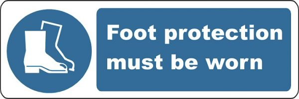 Foot Protection Must Be Worn