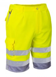 HI VIS Poly-Cotton Shorts