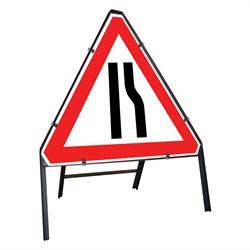 Road Narrows Right