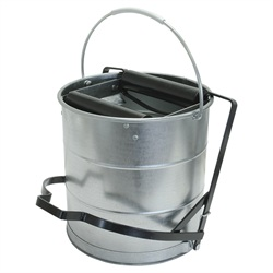 Kentucky Galvanised Bucket Step On