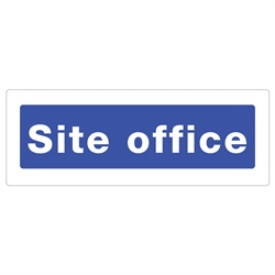Site Office Rigid Plastic Sign