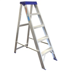 Ladder 6 Tread Aluminium Steps