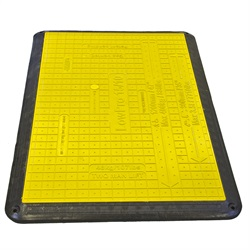 Trench Cover Yellow Low Profile