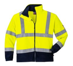 Flame Resistant AntiStatic Hi-Vis Fleece