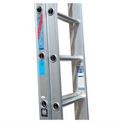 19 Rung Aluminium Extension Ladder
