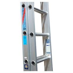 19 Rung Aluminium Extension Ladder