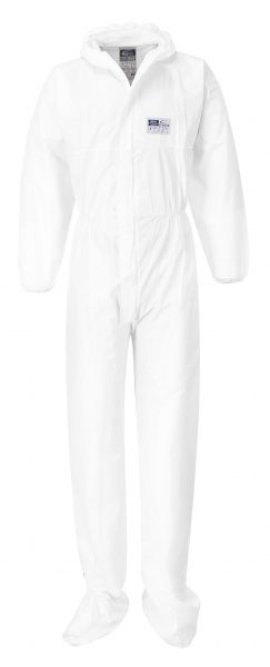 Microporous Coverall with Boot Covers