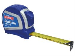 Auto-Lock Tape Measure