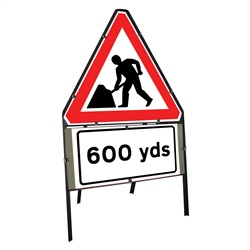 Men at Work 600 Yards