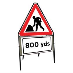 Men at Work 800 Yards