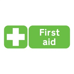 First Aid Rigid Plastic Sign